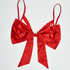 Unwrap me bow, röd