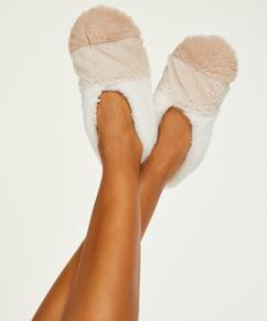 Ballerinatofflor Cosy, Beige