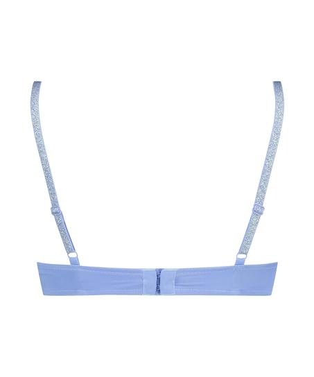 Formpressad bygel-bh Plunge, blå