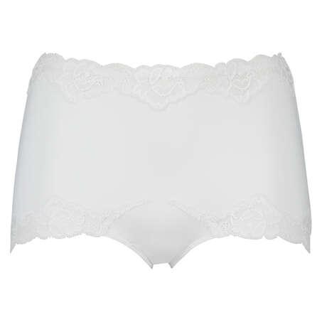 Maxi rio-trosa Secret lace, Vit