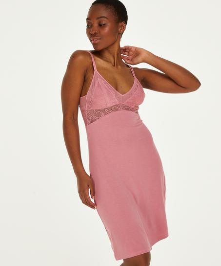 Coco jersey-underklänning, Rosa