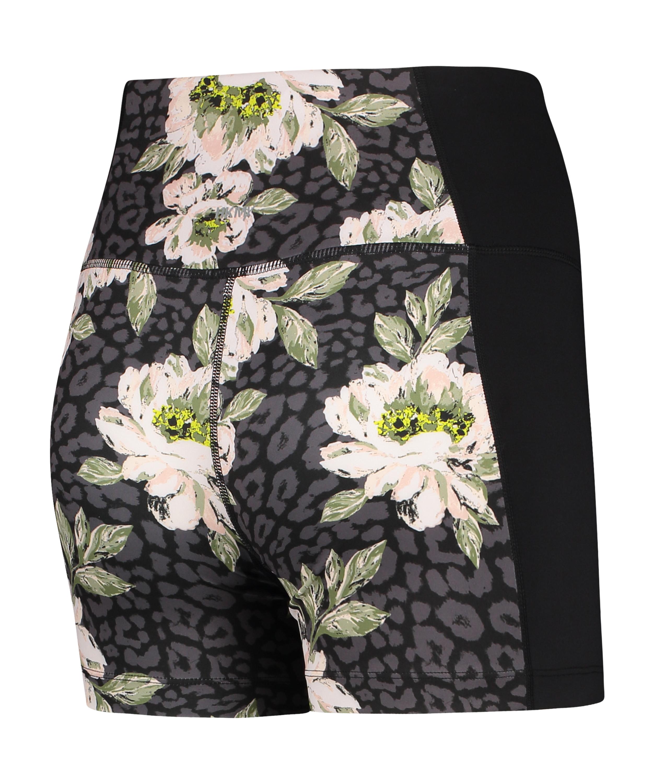 HKMX shorts med hög midja, Svart, main
