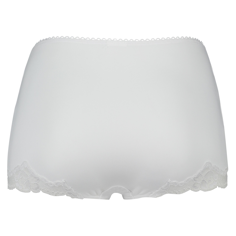 Maxi rio-trosa Secret lace, Vit, main