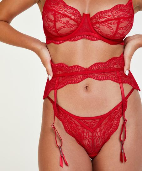 Isabelle strumebandshållare, röd