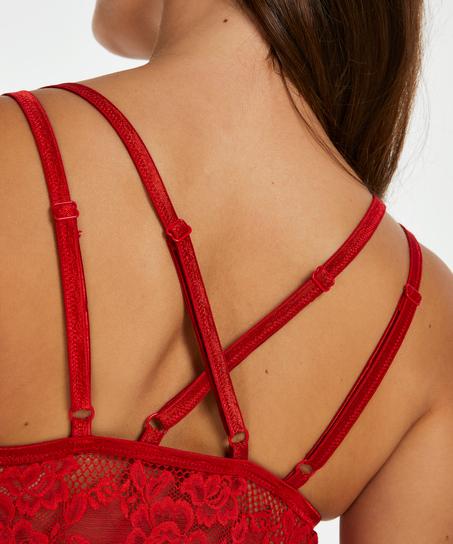 Babydoll Beatriz, röd