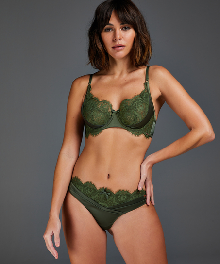 Hannako stringtrosa, grön
