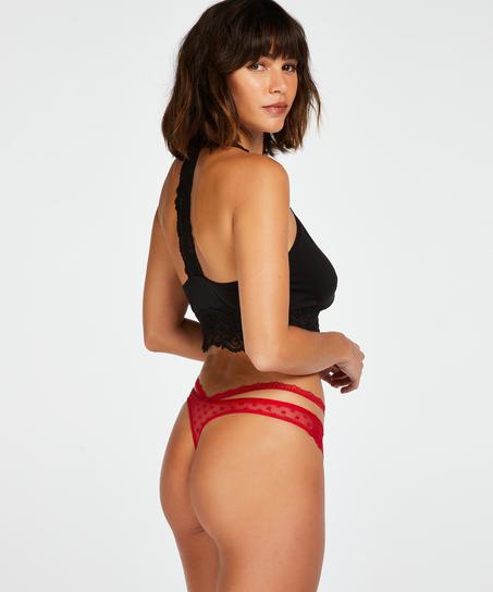 Kelsey stringtrosa, röd