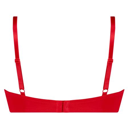Formpressad bygel-bh Plunge, röd