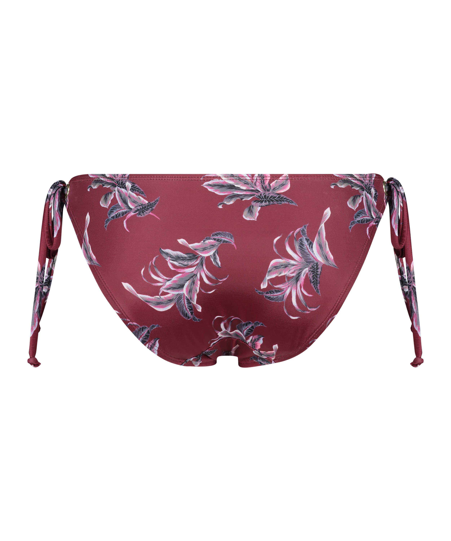 Rio-bikiniunderdelTropic Glam, röd, main