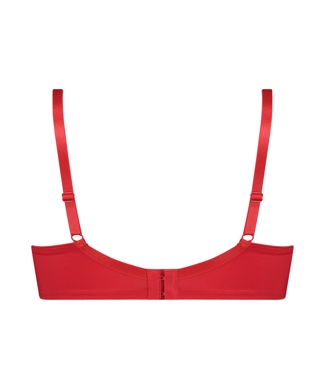 Icke-formpressad minimizer-bh med bygel Nina, röd, main