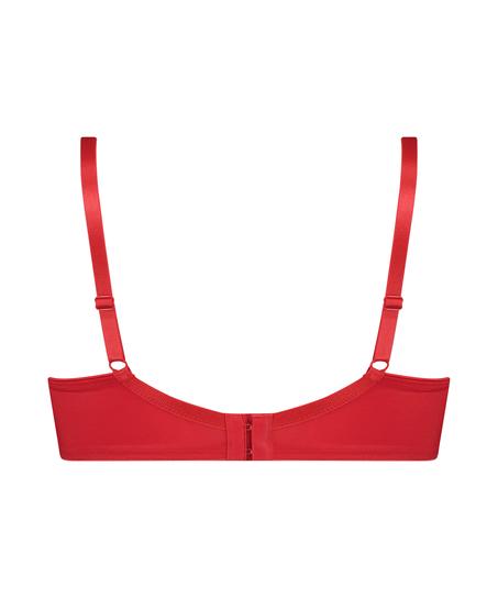 Icke-formpressad minimizer-bh med bygel Nina, röd
