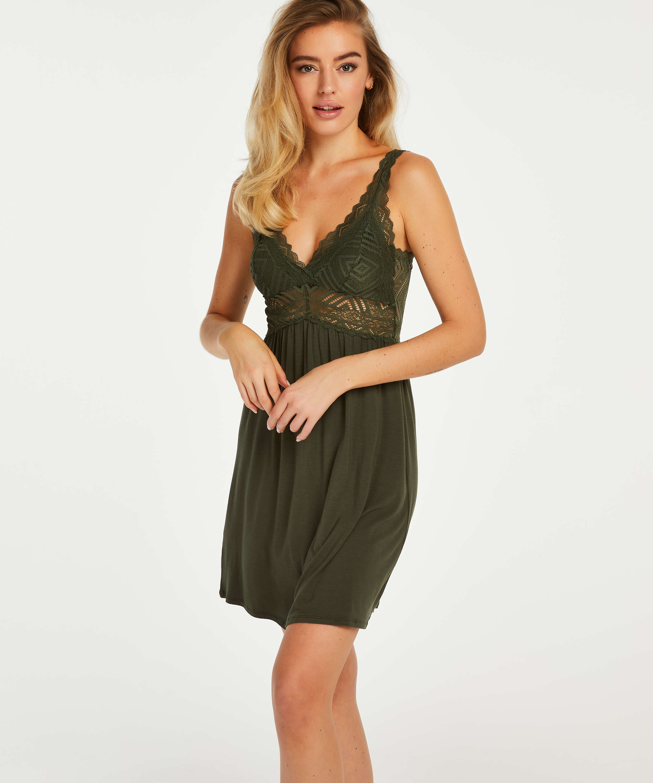 Nora Lace Reinier underklänning I AM Danielle, grön, main
