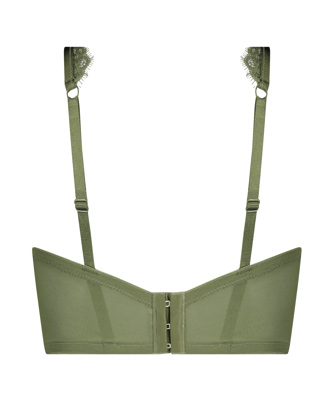 Icke-formpressad bygel-bh Marilee, grön, main