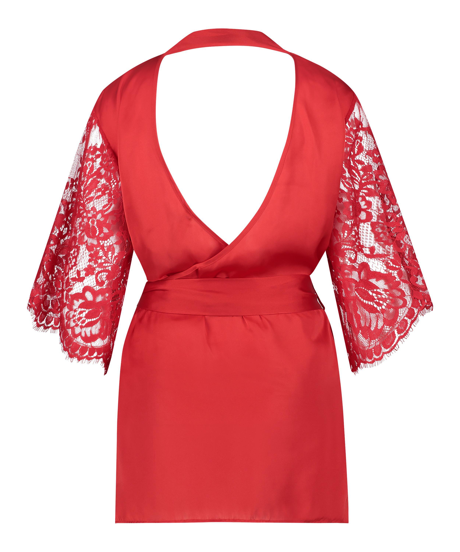 Kimono Jennifer, röd, main