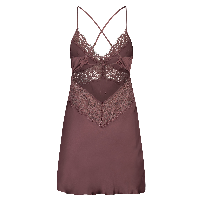 Underklänning Satin Honey, Rosa, main