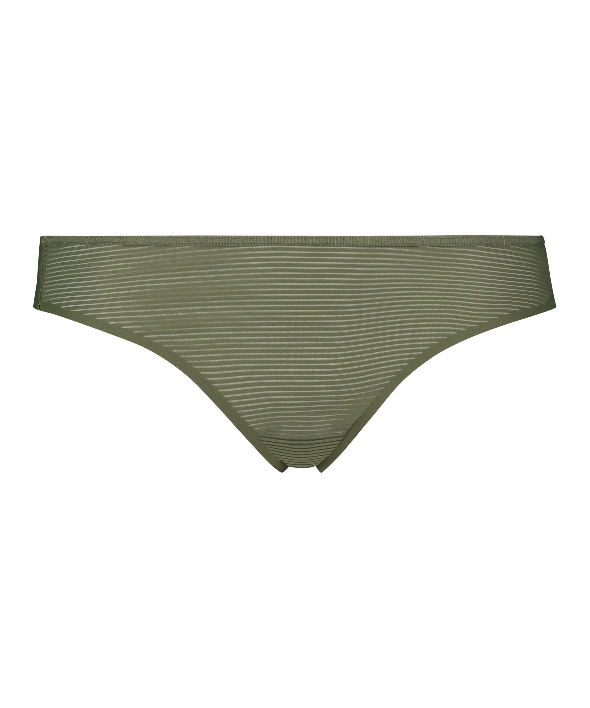 Stringtrosa Invisible Stripe Mesh, grön, main