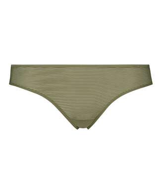 Stringtrosa Invisible Stripe Mesh, grön