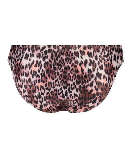 Leopard Rio bikiniunderdel, Svart