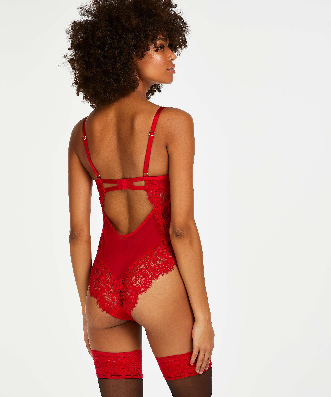 Indie body, röd, main