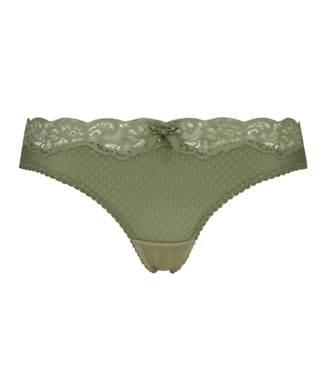 Marion stringtrosa, grön, main