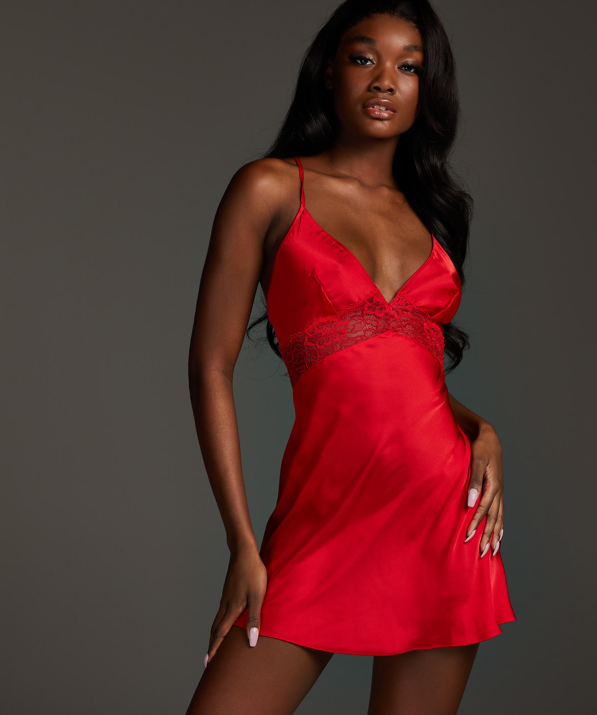 Nina – Underklänning, röd, main