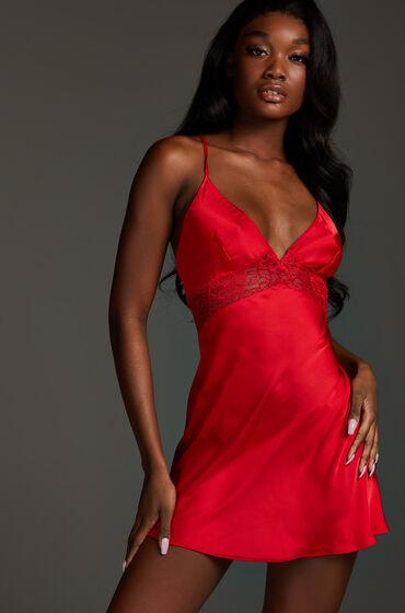 Hunkemöller Nina – Underklänning röd