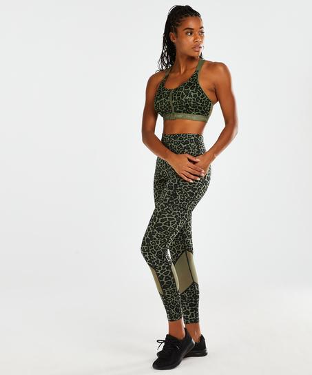 HKMX Oh My Squat sportleggings med hög midja , grön