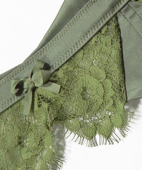 Hannako strumpeband, grön