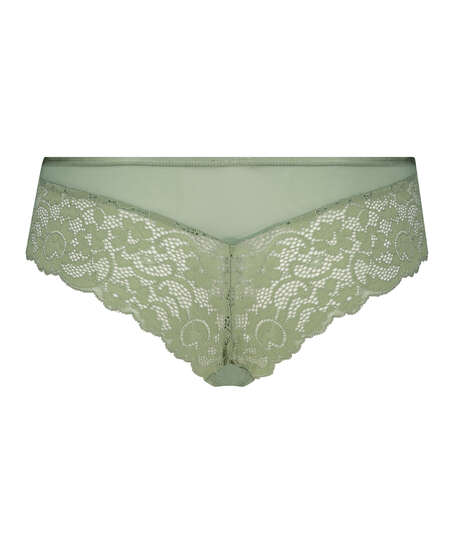 Mia Brazilian-shorts, grön