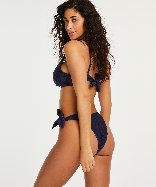 Harper icke-formpressad bikiniöverdel med bygel, blå, main
