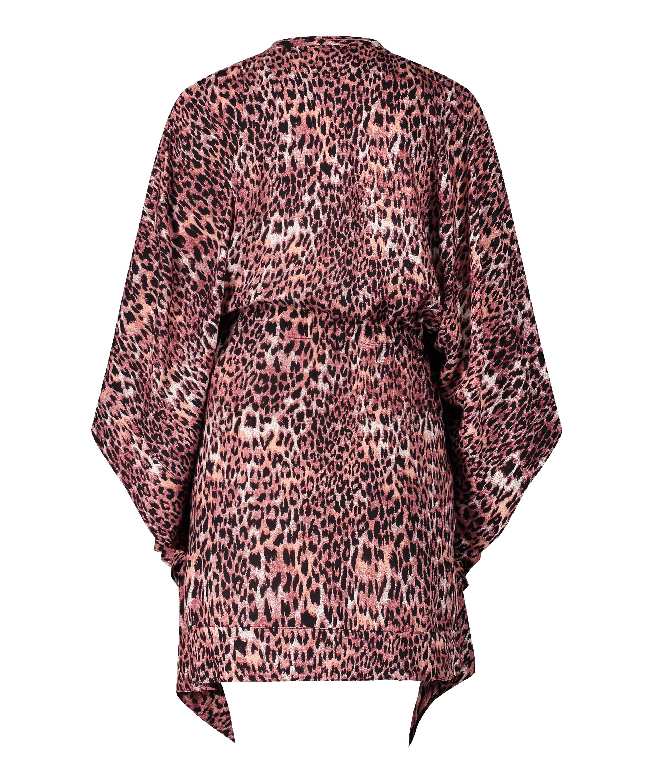Tunika Leopard Rose, Brun, main
