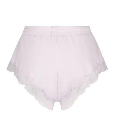 Shorts ribbad spets Mia, Lila