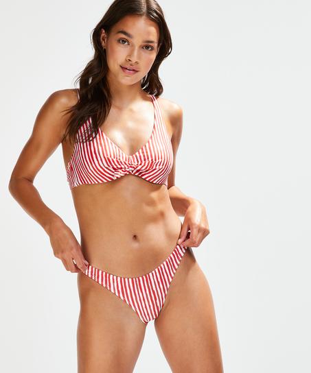 Julia rio-bikiniunderdel, röd