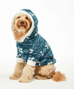 Onsie i fleece för hundar, blå