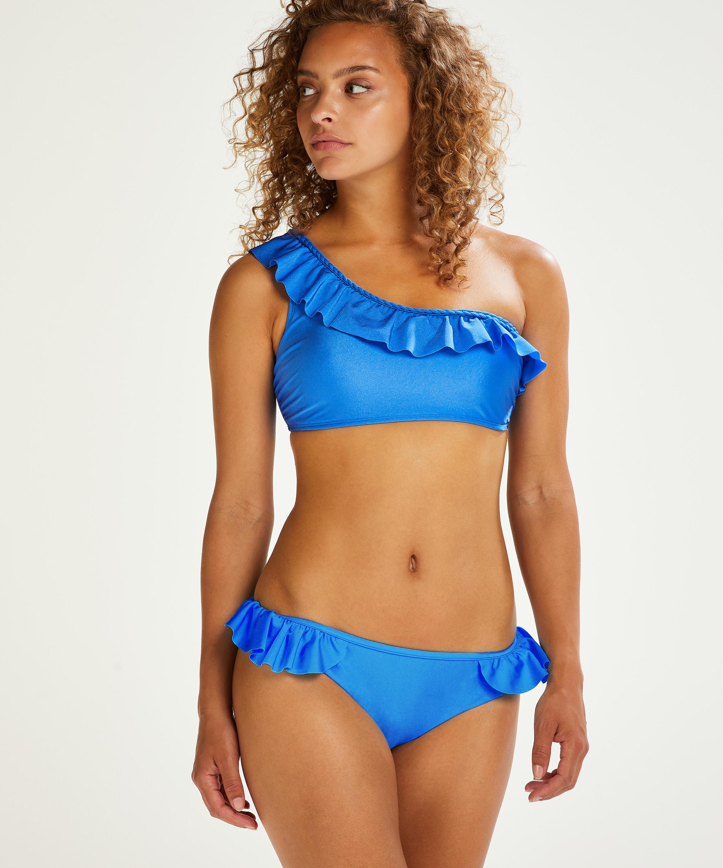 Suze bikini-crop top, blå, main
