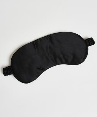 Sleep mask silk Noir, Svart