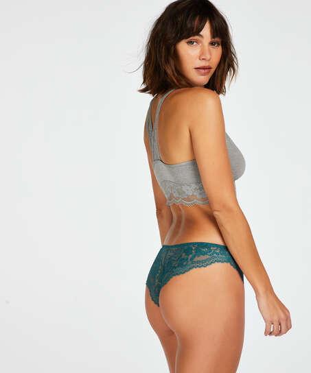 Chelsey brazilian-trosa, blå