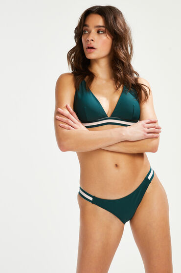 Hunkemöller Rio bikiniunderdel Pinewood grön