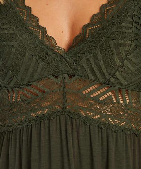 Nora Lace Reinier underklänning I AM Danielle, grön