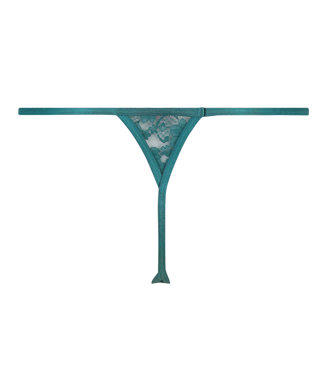 Mini tanga-stringtrosa, blå, main
