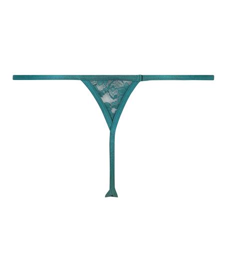 Mini tanga-stringtrosa, blå
