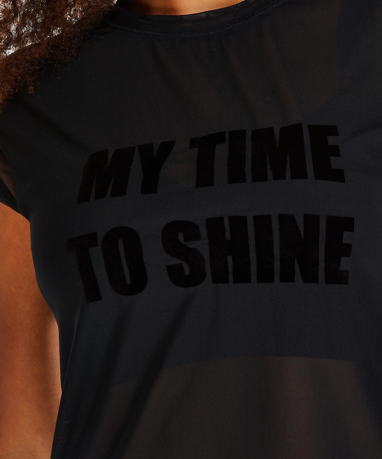 HKMX sporttop Time to shine, Svart, main