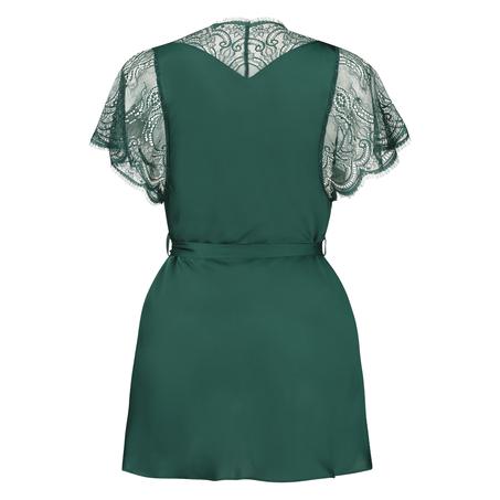 Kimono Cap Sleeve, grön