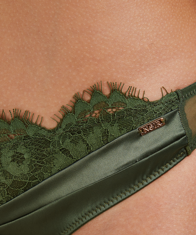 Hannako stringtrosa, grön, main