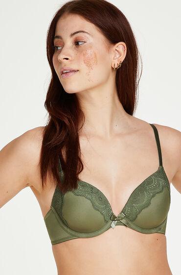 Hunkemöller Gina formpressad bygel-bh grön