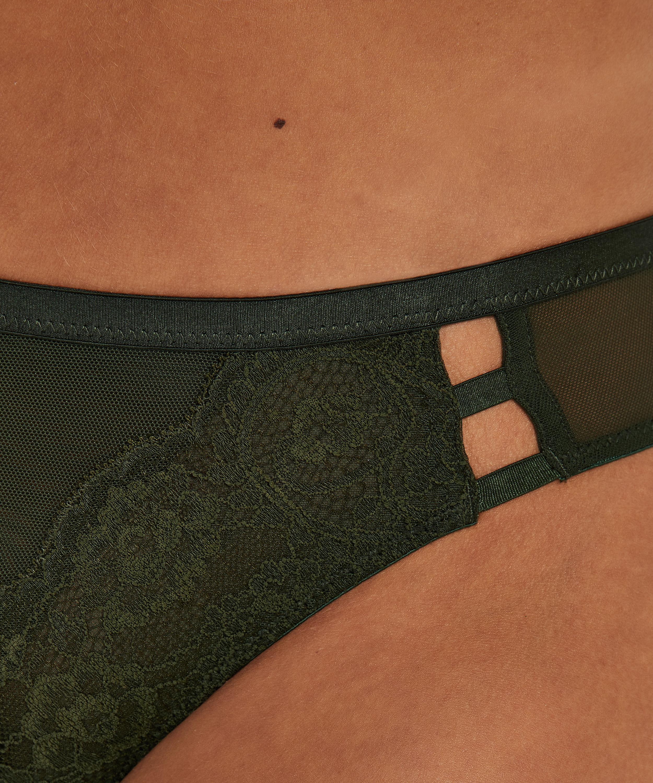 Ollie stringtrosa, grön, main