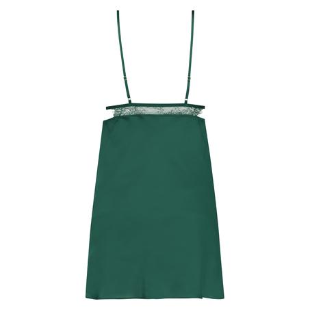 Satin Holly underklänning, grön