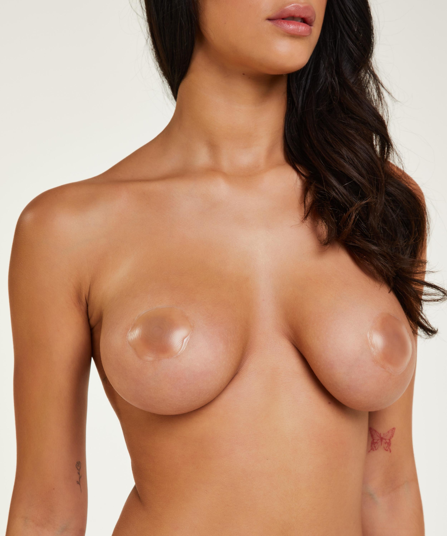 Nipple covers i silikon, Vit, main