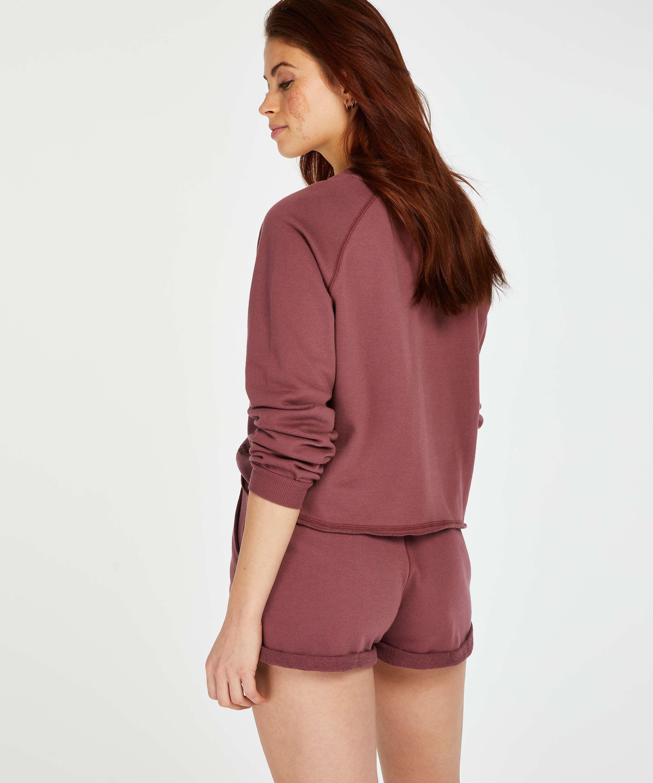 Sweat French Shorts, Rosa, main