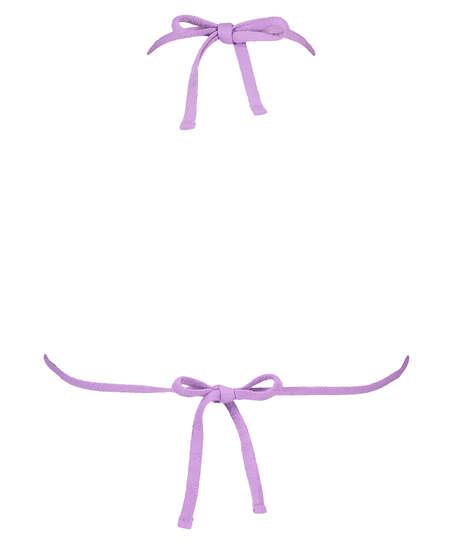 Libby triangel-bikiniöverdel, Lila